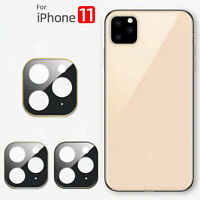Lens Protection Metal Glass Camera Protective Film for iPhone 11 Pro /Pro Max VV