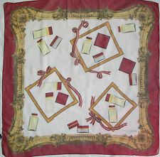 -Authentique Foulard  DOLCE & GABBANA  100% soie TBEG  vintage scarf  87 x 90 cm