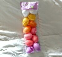 Easter Eggs Fillable Multi Colored Plastic  Spritz 12ct.