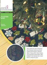 Yuletide Skirt Anita Goodesign Embroidery Machine Design CD NEW