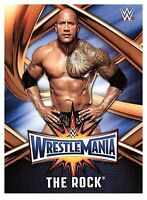 2017 TOPPS WWE Road to Wrestlemania 33 ROSTER #4  THE ROCK