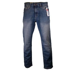Levi Strauss Men's Blue Athletic Premium Flex Denim Jeans (S67)