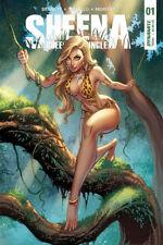 Sheena #1, #2, #3 Main Cover Dynamite Comics New/Unread