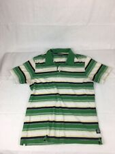 Lucky Brand Mens Polo Casual Shirt Size M, Stone Green