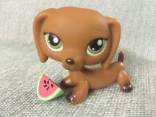 Littlest Pet Shop lot #139 Freckled Dachshund Dog