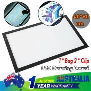 A2  LED Tracing Light Box Stencil Drawing Board Pattern Art Design Pad USB
