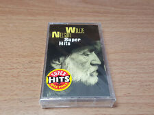 Willie Nelson Super Hits Columbia Brand New Sealed Cassette Tape