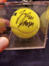 John Isner Autograph Tennis Ball W COA