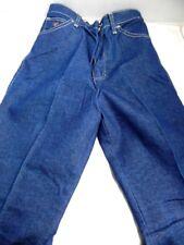 Vintage 1980s Wrangler Jeans Euro Straight High Waist Rise Disco Retro 12 Slim