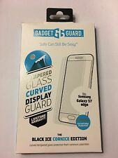 Samsung Galaxy S7 Edge Gadget Guard Black Ice Cornice Glass Screen Protector