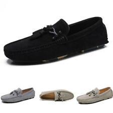 Mens Pumps Slip on Loafers Tassels Soft Comfy Flats 44 Driving Moccasins Shoes L