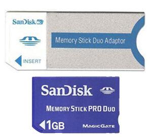 1GB Memory Stick PRO FOR Sony Cybershot DSC-W5