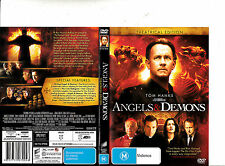 Angels And Demons-2009-Tom Hanks- Movie-DVD