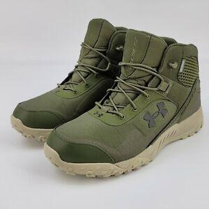 "Under Armour Mens UA Valsetz RTS 5"" Tactical Boots Green 3022854-300 Size 9.5"