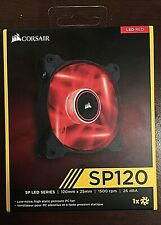 Corsair Air Series SP120 Red LED  High Static Pressure 120mm Fan