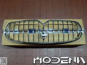 Grille Front Chrome Grill Tridente Trident Maserati Qp 4.7 Facelift