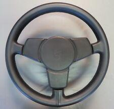 1974-75 Porsche 911 Carrera Leather Hub-Centric Fatty Steering Wheel - Restored