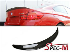 Performance Carbon Fiber Trunk Spoiler For 2014+ BMW F32 428i 435i Coupe 2Dr