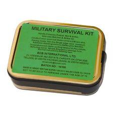 Survivalkit BCB Military Überlebensset Outdoor Dose Notfallausrüstung 16-teilig