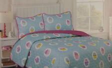 2 pc Cozee Quilts Sweet Treats Twin Quilt & Sham Set Nip