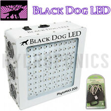 Black Dog LED: PhytoMAX 200W Grow Light w/ Free Ratchet Grow Light Hangers!