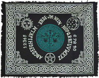 Celtic Knot Tree of Life Ouija Spirit Board Wicca Pagan Occult 24x30 Altar Cloth