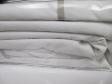 NEW Ralph Lauren RL Palmer White Pale Flannel Comforter Duvet Cover - King