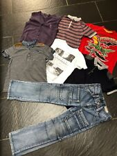 Next River Island Duck & Dodge T-Shirt Jeans Chemise Cardigan 5-6 ans Bundle (C)