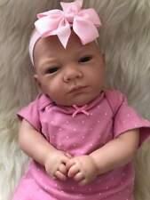 Reborn Baby Girl Anna Newborn Child Friendly First Fake Baby 3+