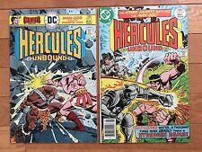 DC Comics HERCULES UNBOUND #3, 10 Wally Wood, Walt Simonson 1976, 1977
