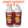 GROWLUSH HYDROPONICS BLOOM FLOWER PART A&B 1L NUTRIENT