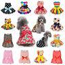Various Cute Pet Dog Dress Skirt Puppy Princess Costume Apparel Summer Clothes