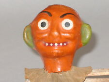 Antique German Halloween Wooden Noise Maker Germany Vintage Decoration 1920s