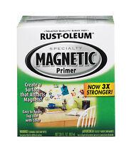 1qt Rustoleum Magnetic Interior Primer Paint 30oz Surface Attracts Magnets