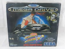 Sega Mega Drive Console Boxed Sleeved Street Fighter 2 Special Champion Edition