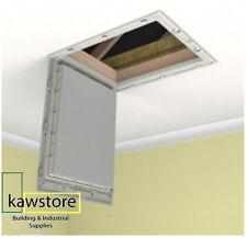 Manthorpe GL250 Plastic Drop Down Loft Hatch & Surround Multi Point Catch White