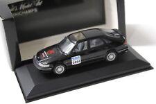 "1:43 Minichamps Saab 900 Saloon ""TOY FAIR 2001"" black NEW bei PREMIUM-MODELCARS"