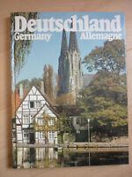 Bildband DEUTSCHLAND . deutsch,englisch,französisch,Prisma Verlag 1983