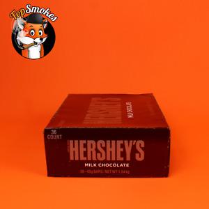 HERSHEY'S Milk Chocolate Candy Bars, 1.55-oz. Bars, 36 Count FREE SHIPPING USA
