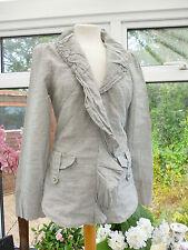 Per Una Cotton Blend Button Coats & Jackets for Women
