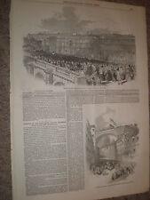 Opening of the High level railway Bridge Newcastle upon Tyne 1848 prints