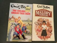 2 Enid Blyton Books The Children of Cherry-Tree Farm In Fifth at Malory Towers