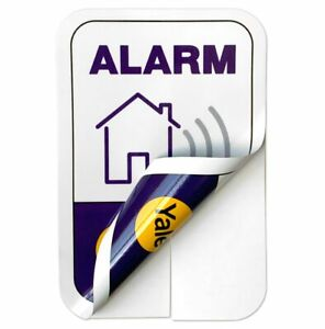 Yale Smart Living Alarm Window Stickers for Alarms, Locks, Cameras & CCTV