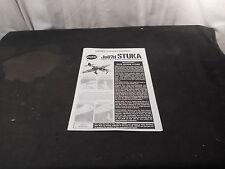 Cox Stuka Manual
