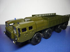 "1/43 MAZ-7310 ""URAGAN"" 8x8 1962 Khaki military Heavy truck USSR Elecon"