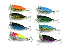 8x Cicada Fishing Lure Topwater Popper Crawler Surface Freshwater Bream Bass Cod
