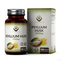 Son de Psyllium (1000mg) | 180 Capsules | Meilleur contrôle de l'appétit