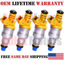 4PCS OEM BOSCH FUEL INJECTORS FOR 1990-1991-1992-1993 Volvo 240 MPN: 0280150762