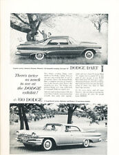 1960 Dodge Pioneer Dart and Polara - Original Car Advertisement Print Ad J254