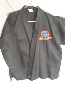 Century Kempo Karate Black Gi Size 3